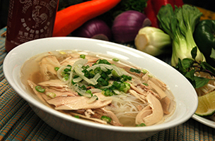 Pho Dui Bo Clear Chicken Soup