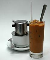 Pho Dui Bo iced coffee