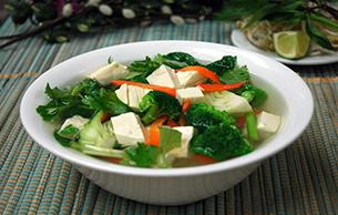 Pho Dui Bo Tofu Soup
